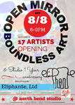 Open Mirrors Boundless Art Exhibit at North Bend Studio - August 2015